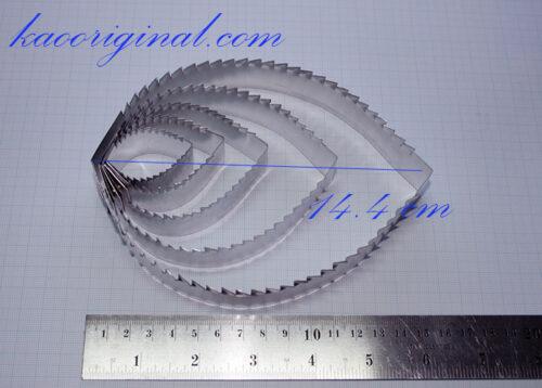 Hydrangea leaf cutter, พิมพ์ตัดใบไฮอเดรนเยีย