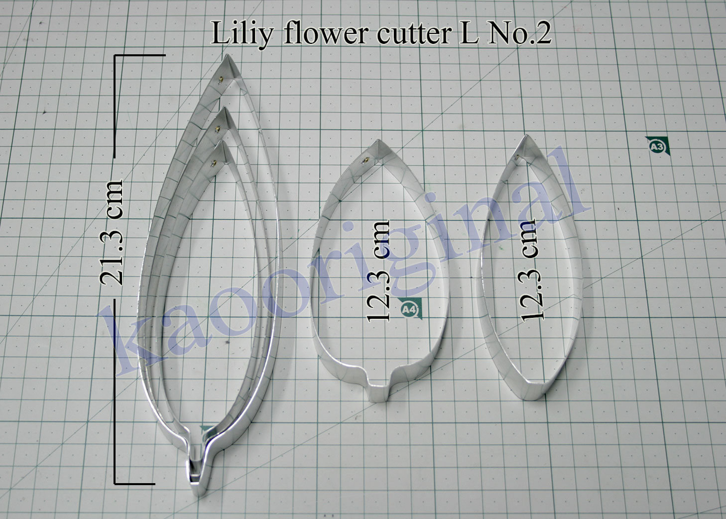 Lily flower S M L complete set <br> ดอกลิลลี่ S M L ชุดสมบูรณ์ <br> SKU: 3503 - L No.2