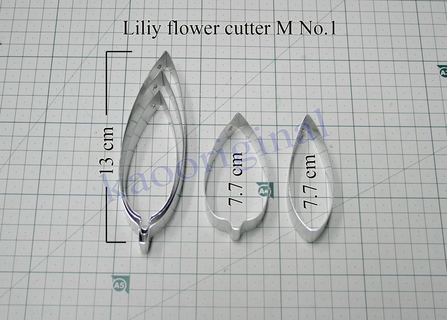 Lily flower S M L complete set <br> ดอกลิลลี่ S M L ชุดสมบูรณ์ <br> SKU: 3503 - M No.1