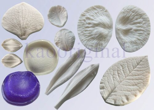 Silicone veiner molds